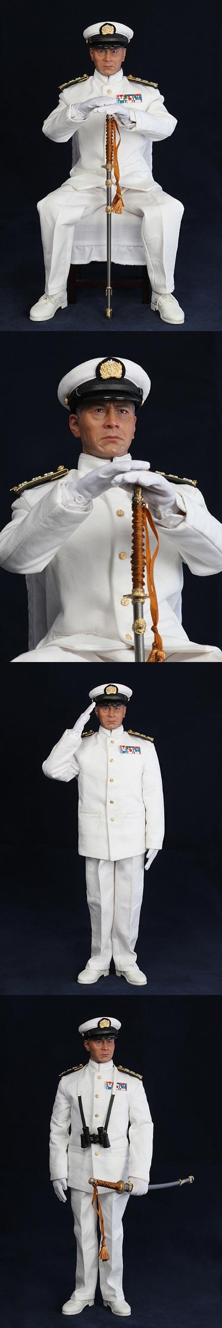 【3R】JP611 三船敏郎 連合艦隊司令長官ver.夏服タイプ  関連商品  3R×FEWTU
